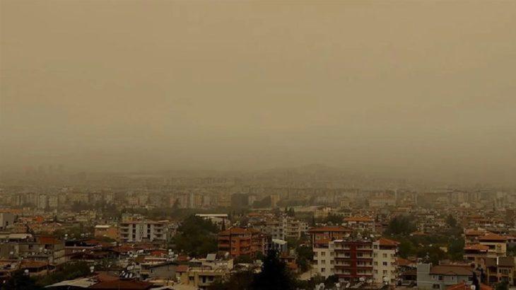 Meteoroloji'den Suriye kaynaklı 'toz taşınımı' uyarısı
