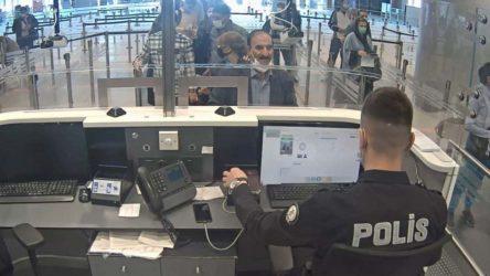 Sahte pasaportla Türkiye'ye 25. girişinde yakalandı