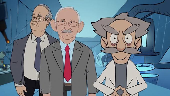 AKP sosyal medyada dalga geçilen animasyonu sildi