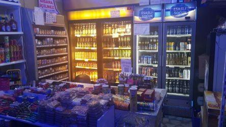 İstanbul'da alkol satışı yapan esnaf gözaltına alındı!