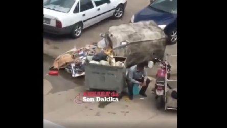 Ankara'da çöp toplayan yurttaşa ceza!