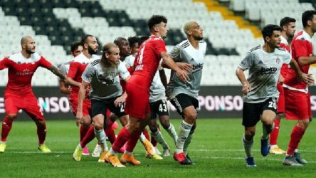 Antalyaspor - Beşiktaş maçı seyircili oynanacak
