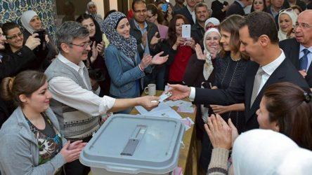 Avrupa Birliği'nin demokrasi sevdası buraya kadar: Suriye'deki seçimleri tanımıyoruz