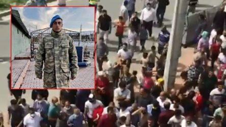 Askerliğini yaptığı sırada hayatını kaybeden Caner Sarmaşık için eylem: İntihar değil cinayet!