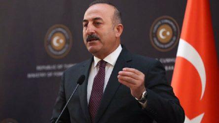 Çavuşoğlu'ndan İsrail açıklaması: Bizimle sağlıklı ilişki yürütebilmesi için yanlış politikalarından vazgeçmeliler