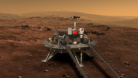 Çin'in insansız uzay aracı Mars'a inmeyi başardı
