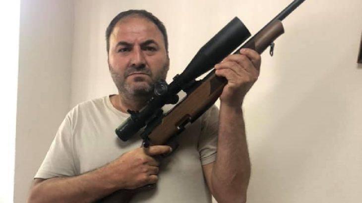 Erdoğan'ın sözlerinin ardından tüfeğine sarılan din öğretmeni hakkında soruşturma