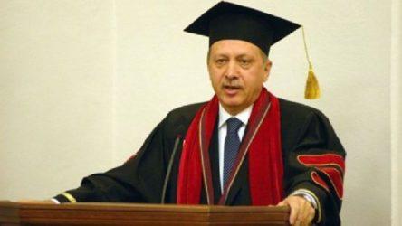 Erdoğan'a verilen fahri doktoraların verisine ulaşılamıyor