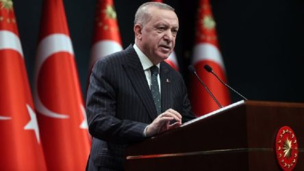 Erdoğan, Kabine toplantısının ardından konuşuyor