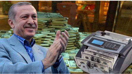 Erdoğan örtülü ödenekten dört ayda 780 milyon TL harcadı