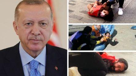 Erdoğan: Aşırı terörist gruplar bu güzel günü anlamsız hale getiriyor
