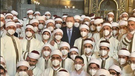 Erdoğan'ın torunu 'hafız' oldu