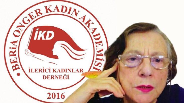 Beria Onger Kadın Akademisi'nde 10. oturum Erendiz Atasü'nün katılımıyla gerçekleşti