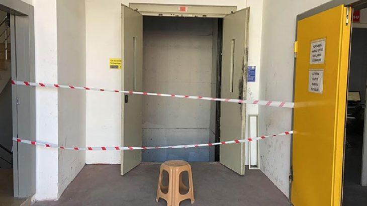 Esenyurt'ta asansör boşluğuna düşen kurye yaşamını yitirdi