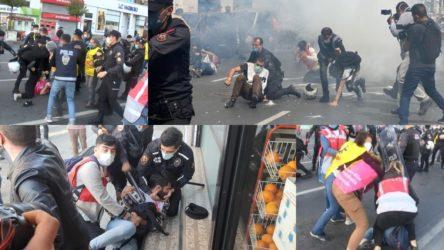 Emekçiler sokaklarda yaka paça gözaltına alınırken Saray'dan 1 Mayıs açıklamaları!
