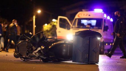 İş cinayeti: Motokurye hayatını kaybetti