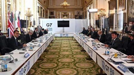 G7 ülkelerinden ortak Rusya açıklaması: Endişe duyuyoruz