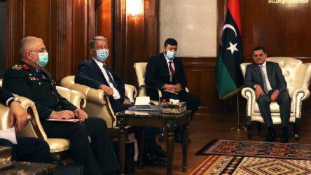 Hulusi Akar, Libya Başbakanı ile görüştü
