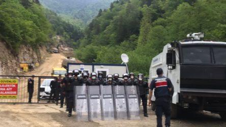 İkizdere'de yasağa rağmen köylülerin Cengiz'e karşı direnişi sürüyor