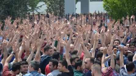 İşçi sınıfı hakları için ayağa kalkıyor!