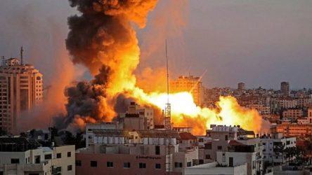 İsrail'den Gazze'ye hava saldırısı: Şu ana kadar yapılan en büyük saldırı