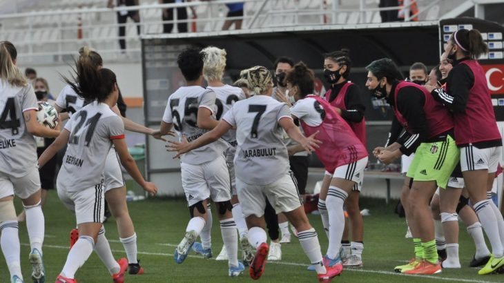 Kadın Futbol Liginde şampiyon Beşiktaş