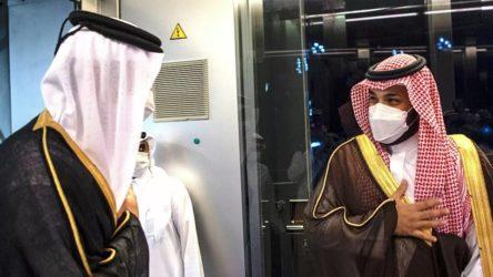 Katar Emiri'nden, Körfez krizinden sonra Suudi Arabistan'a ilk ziyaret
