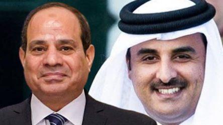 Katar Emiri, Sisi'yi Doha'ya davet etti