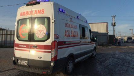 Gebze'de depolama tesisinde patlama: Çok sayıda işçi yaralı