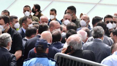 Lebaleb kongrelerin sahibi Erdoğan, tam kapanma döneminde de 'kalabalık' cenaze yaptı