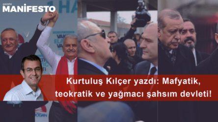 Mafyatik, teokratik ve yağmacı şahsım devleti!