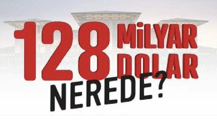 Mahkemeden 128 milyar dolar afişi kararı: Tekrar asılacak