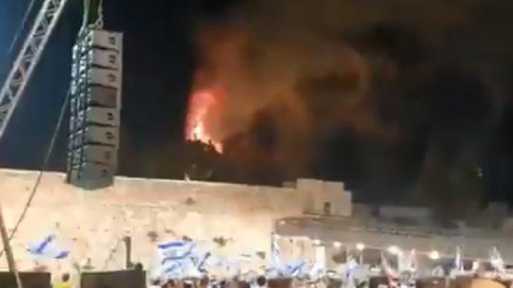 VİDEO | Mescid-i Aksa'daki yangını kutladılar