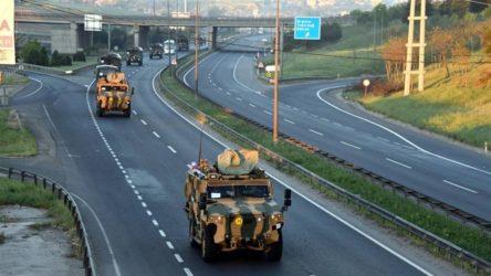 NATO tatbikatına katılacak olan birlikler yola çıktı