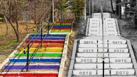 ODTÜ Rektörlüğü 45 kişiye merdivenleri boyadıkları gerekçesiyle soruşturma başlattı