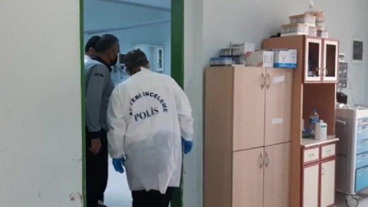 Hastanede oksijen tüpü patladı: 1 sağlık işçisi yaralandı