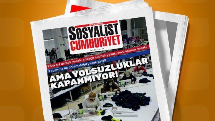 Sosyalist Cumhuriyet gazetesinin 201. sayısı çıktı!