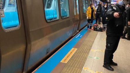 Taksim metro istasyonunda bir yurttaş, intihar girişiminde bulundu