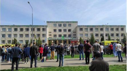 Tataristan'da bir okula yapılan silahlı saldırı da 11 kişi hayatını kaybetti