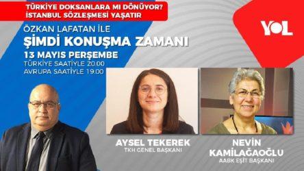 TKH Genel Başkanı Aysel Tekerek Yol TV'ye konuk oluyor