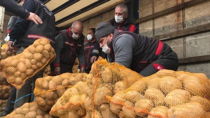 TMO yüzünden Niğde'de 100 bin ton patates çürüdü