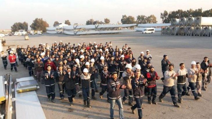 TPI Kompozit işçileri greve çıkıyor