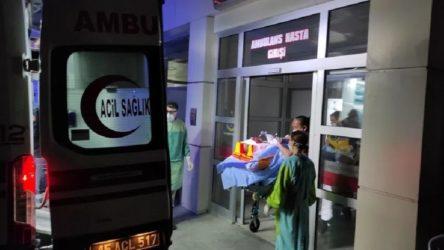 Pres makinesine sıkışan 48 yaşındaki işçi ağır yaralandı