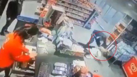 VİDEO | Yozgat'ta kadına şiddet ve cinayet girişimi: Müdahale etmek yerine alışverişe devam ettiler