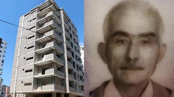 65 yaşındaki işçi, inşaatın 8. katından düşerek hayatını kaybetti
