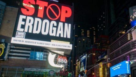 ABD'deki 'Stop Erdoğan' ilanları ile ilgili 'Cumhurbaşkanına hakaret' suçundan iddianame hazırlandı
