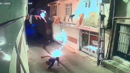 AKP binasına molotof atan kişi, AKP'li yöneticinin yeğeni çıktı