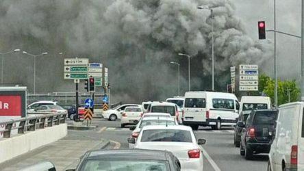 Ankara'da kimyasal üretim merkezinde yangın