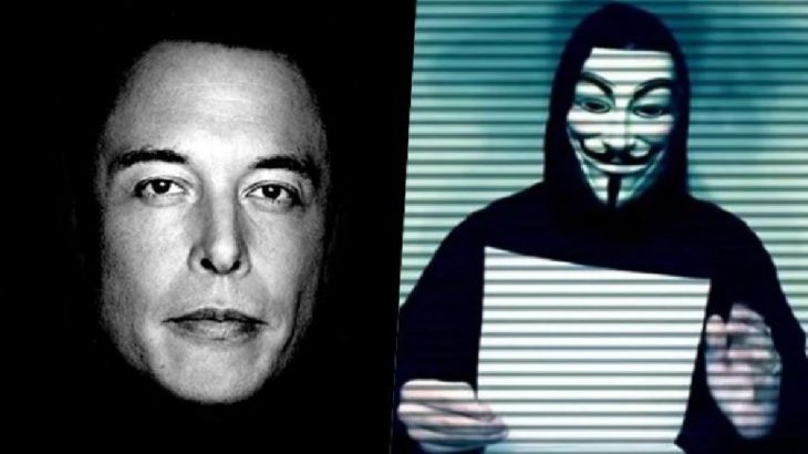 Anonymous, kripto para piyasasını manipüle eden Elon Musk'ı hedef aldı