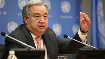 Guterres, Konsey'den adaylığı için onay aldı
